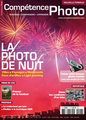 Image de feu d'artifice en couverture